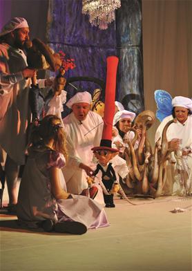 Alice în Țara Minunilor la Teatrul Țăndărică