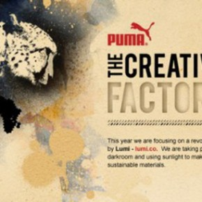 Un nou proiect PUMA The Creative Factory: Love thy Planet