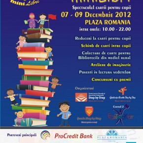 Iubirea pentru cărți se învață: Târgul de carte pentru copii miniLibri