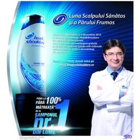 Consultații dermatologice gratuite oferite de specialiștii head&shoulders
