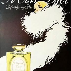 Istoria în imagini a parfumului Miss Dior