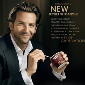 Plăceri vinovate: Häagen-Dazs Secret Sensations și ... oh, Bradley Cooper