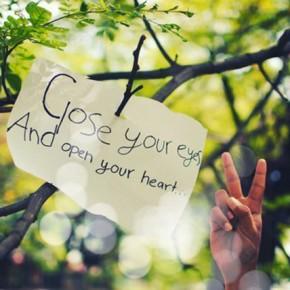 Deschide-ți inima, primește și dă mai departe