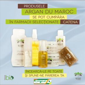 Argan du Maroc: Un nou brand pe piața cosmeticelor cu ulei de argan