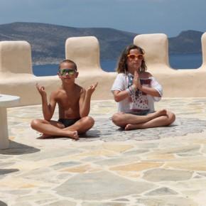 Vacanța în imagini: Yoga ...
