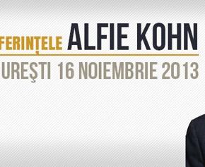 Conferințele Alfie Kohn sau de ce abia aștept ziua de mâine